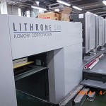 Komori Model : LS- 440 , Year : 2008