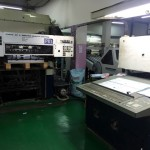 Komori Model :  L-440 , Year : 1985